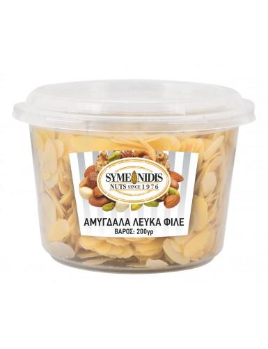 Almonds white fillet 200gr