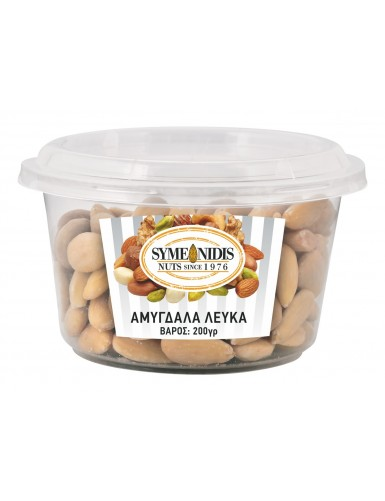 Almonds blanched raw 200gr