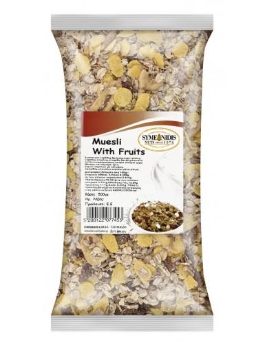Cereal muesli with fruit 500gr